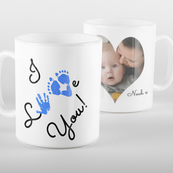 I Love You Photo Mug