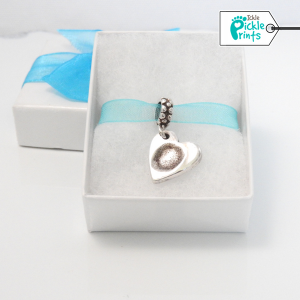 Small Fingerprint Charm with Pandora Attachment
