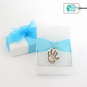 Sculpted Hand/Footprint Pendant