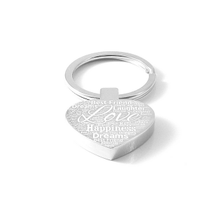 Words of Love Keyring