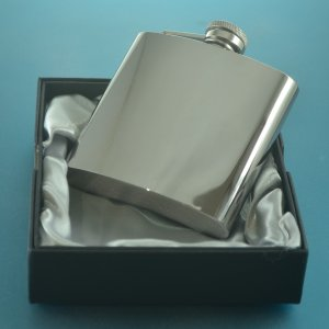 Personalised Wedding Hip Flask