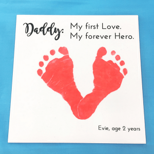 Forever Hero Footprint Tile
