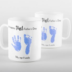 First Father's Day Personalised Mug