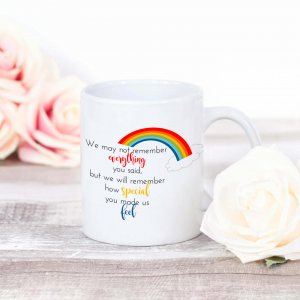 Rainbow Leavers Mug