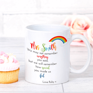 Social Teacher Thank You Mug