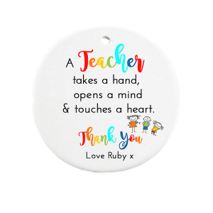 Hand, Mind, Heart - Teacher Thank You Gift