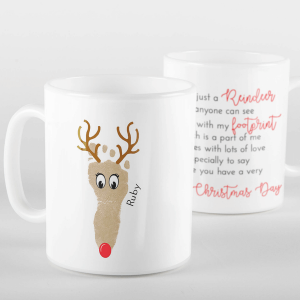 Reindeer Footprint Mug