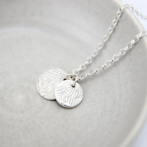 Fingerprint Eclipse Necklace