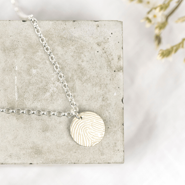 Fingerprint Unity Necklace