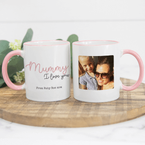 Love You Mummy Personalised Photo Mug